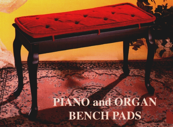 Piano Bench Pads Piano Bench Pads