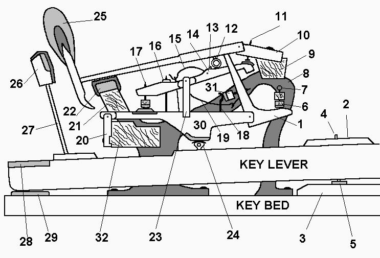 grandact diagram grand piano
